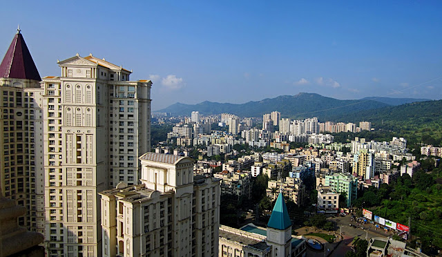 thane city skyline