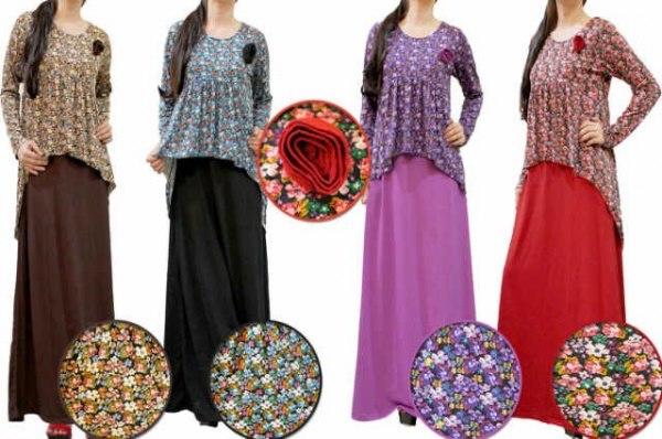 Model Gamis Yang Sangat Modren 2013 Bagi Orang Pendek