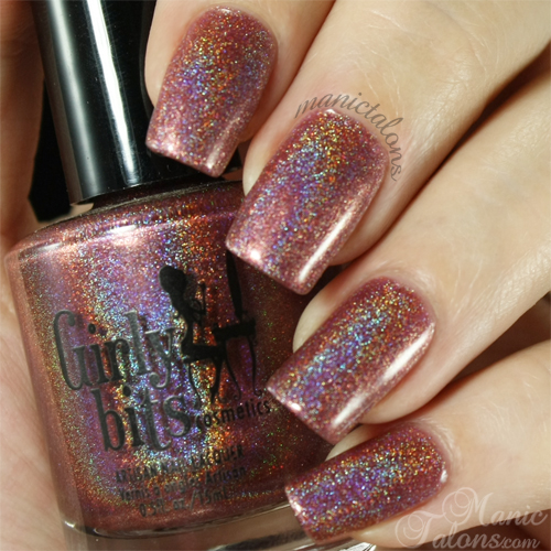 Girly Bits Auld Langs Wyne Swatch