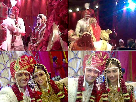 Ritesh Deshmukh And Genelia DSouza Wedding Dulha Amp Dulhan