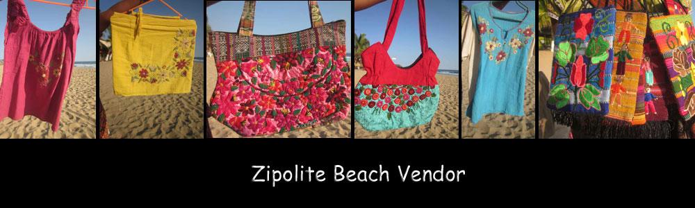 Zipolite Beach Vendor