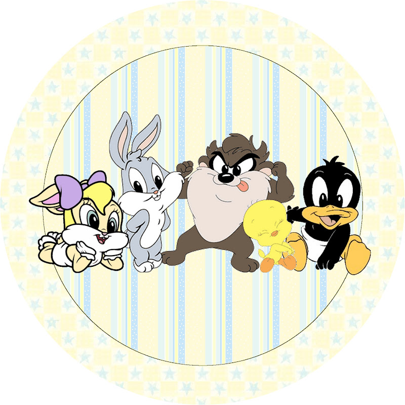 Looney toons baby shower invitations party invitations ideas for Baby looney tune decoration