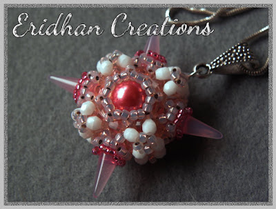 spike beads pendant tutorial