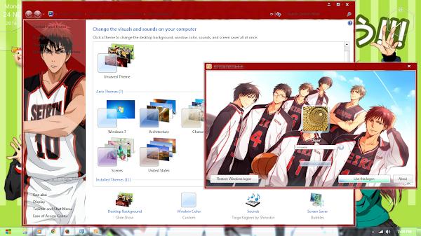 Kuroko no Basket: Taiga Kagami ( Windows 7 ) 4