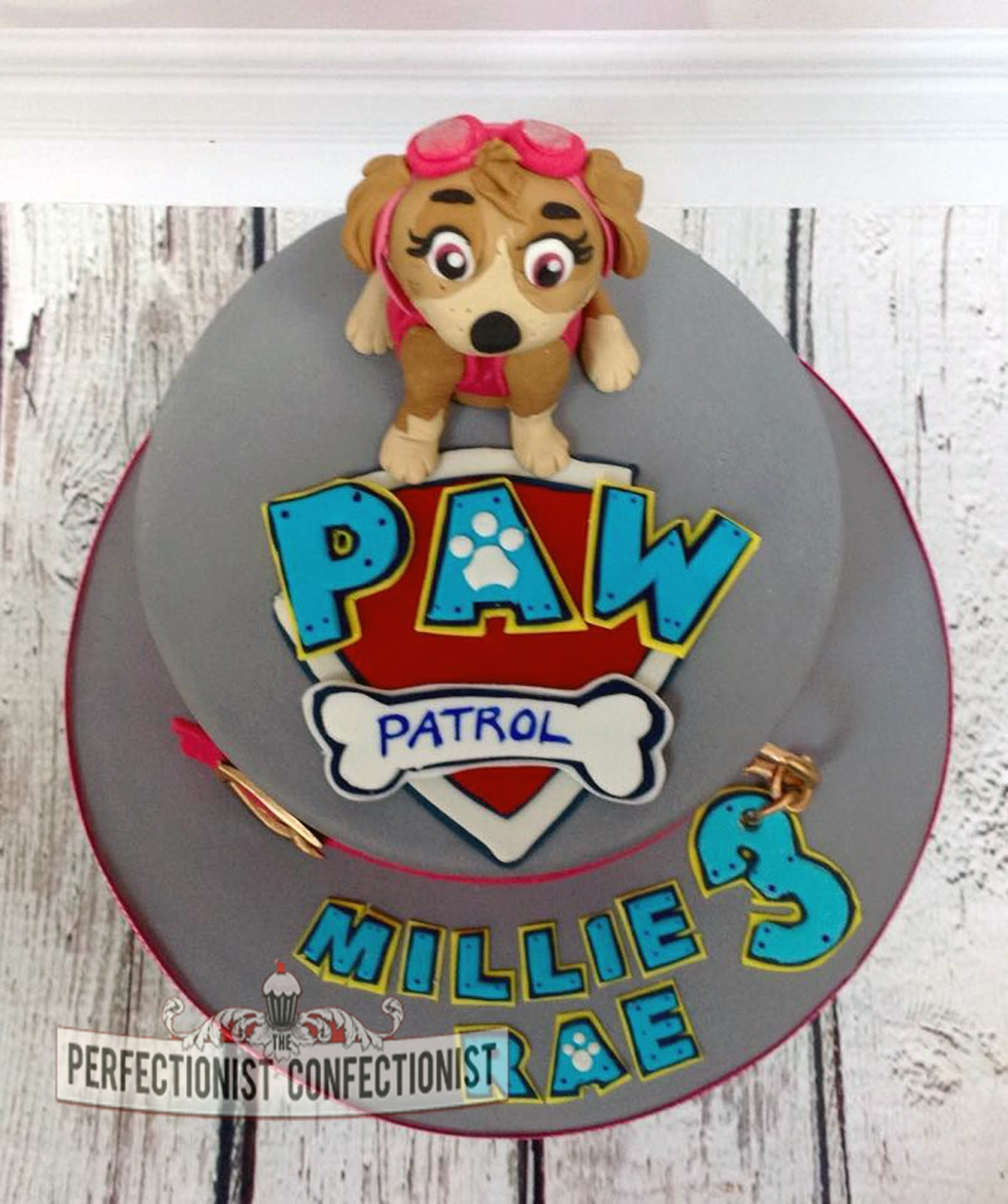The Perfectionist Confectionist Millie Rae Paw Patrol Birthday Cake
