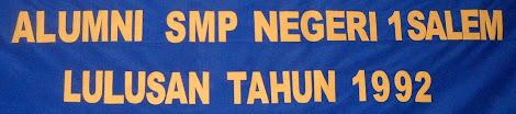 Blognya Alumni SMP Negri 1 Salem angkatan 1992