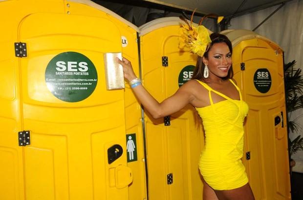 Ava Simões, Miss Brasil Gay 2009 (Foto: Dario Zalis / Divulgação)