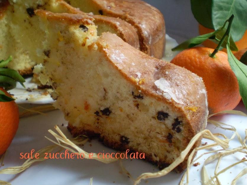 torta di albumi e mandarino