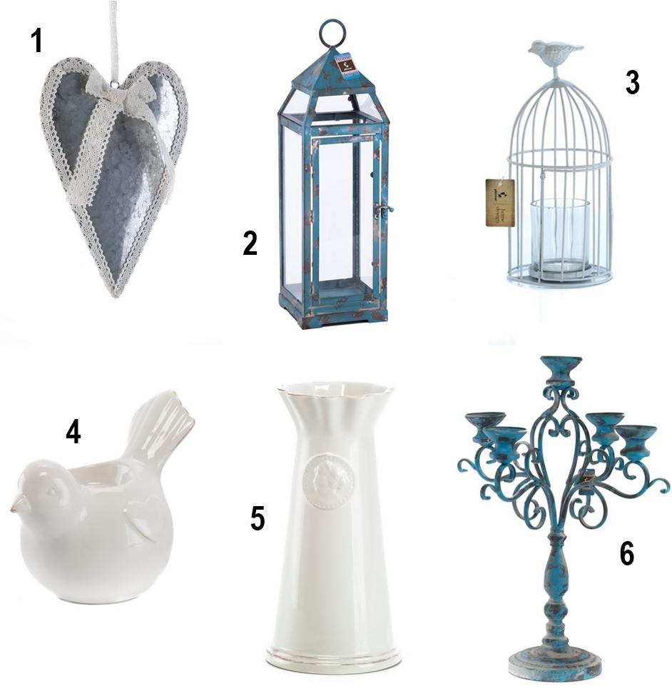 Dekoracje na balkon Lampion, zawieszka serce, dekoracyjna klatka, turkusowy świecznik, świecznik w kształcie ptaszka, turkusowy lampion