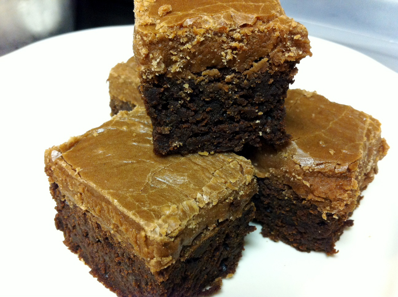 BS Recipes: Fudge Brownies with Frosting