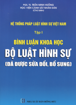 sách bình luận khoa học bộ luật hình sự năm 2014
