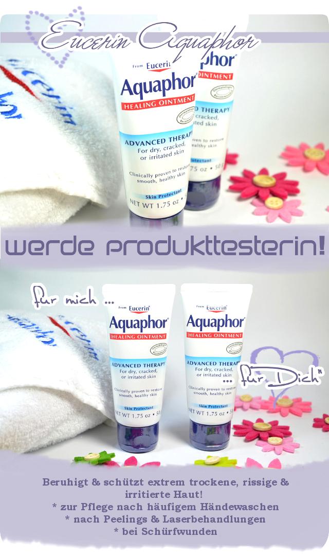 Werde Produkttester für Eucerin Aquaphor
