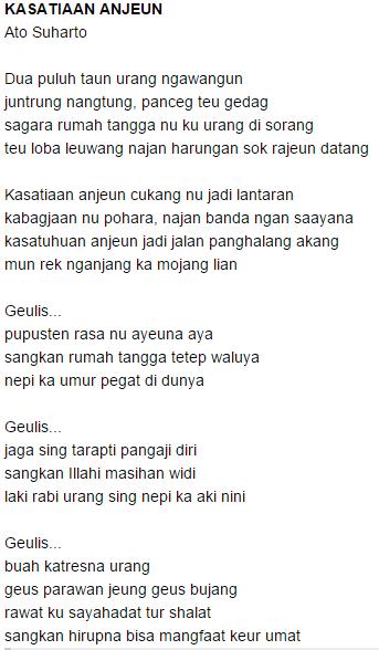 Kumpulan Puisi Bahasa Sunda Pendek Terbaru 2015 ♥ Bergambar