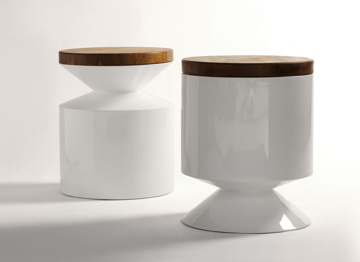 takeshi side table clickon furniture designer modern classic