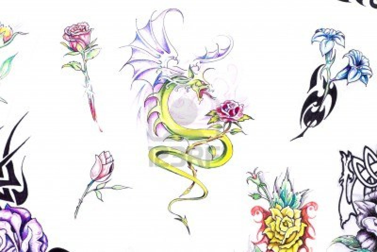 my scorpio tattoos collection: Tattoo Flash Art