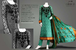 Almirah Latest eid Colllection 2013
