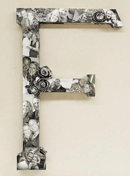 Ben Franklin Crafts and Frame Shop, Monroe, WA: DIY Monogram Photo ...