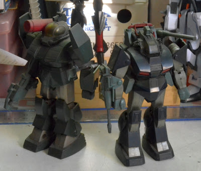 Takara Fang of the Sun: Dougram Diecast Toys: Soltic H8 and Dougram