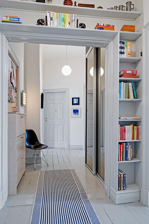 estanterias de altura para espacios pequeños