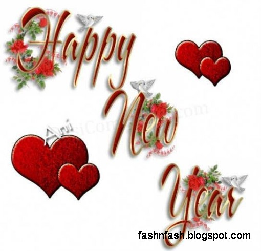 Fashion Glamour World Fok: New Year Greeting Cards Wallpapers-Best ...