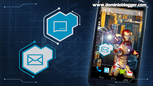 Iron Man 3 Live Wallpaper gratis para Android - www.dominioblogger.com