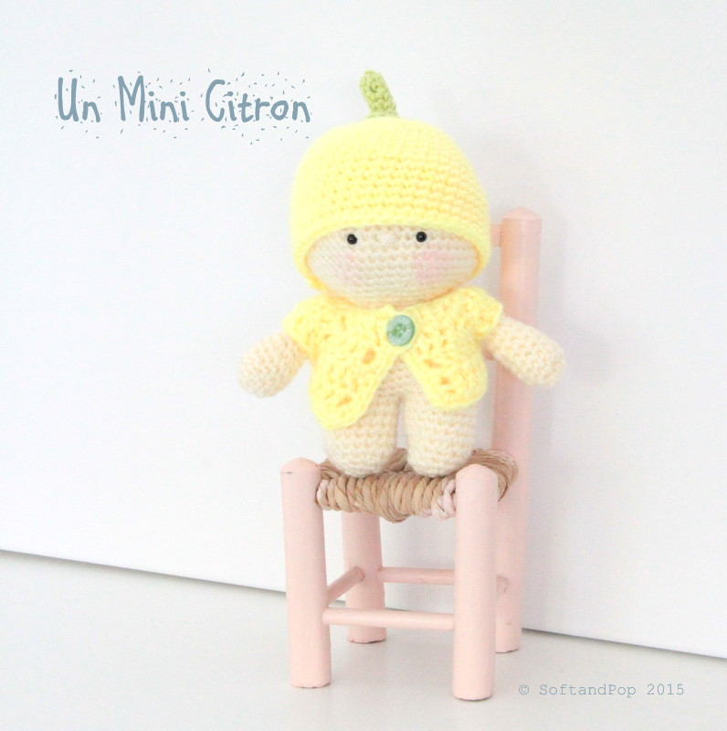 amigurumi Mini citron