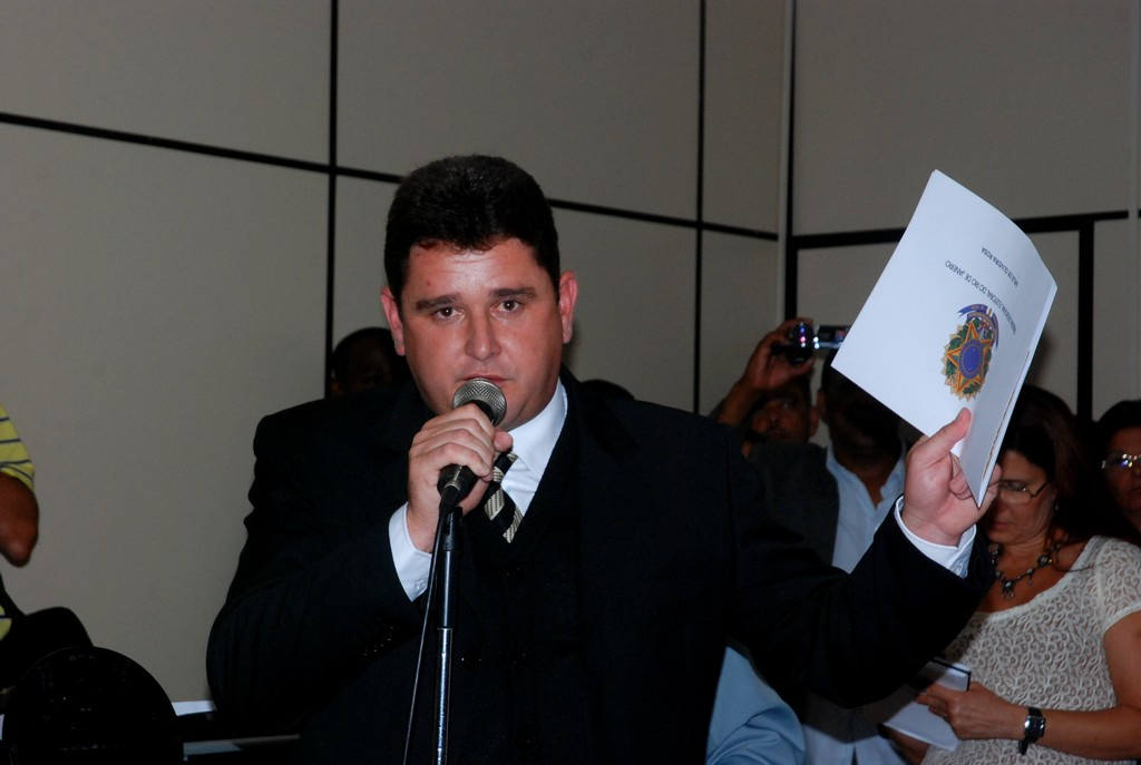 Eleito e diplomado, Arlei agradeceu a Deus, ao TRE e principalmente a população de Teresópolis