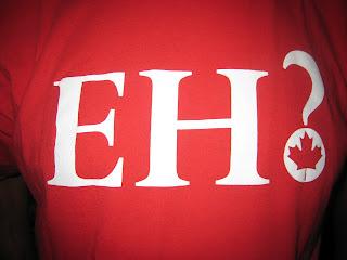 Canada Eh Red Tshirt