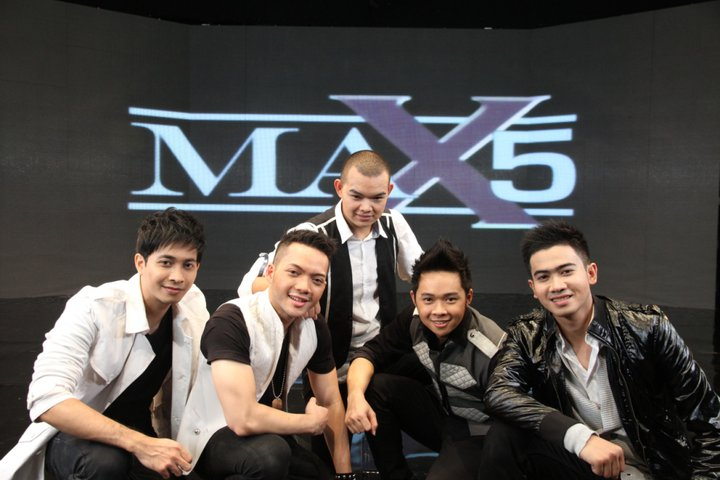 Wallpaper Max 5 Boyband Indonesia