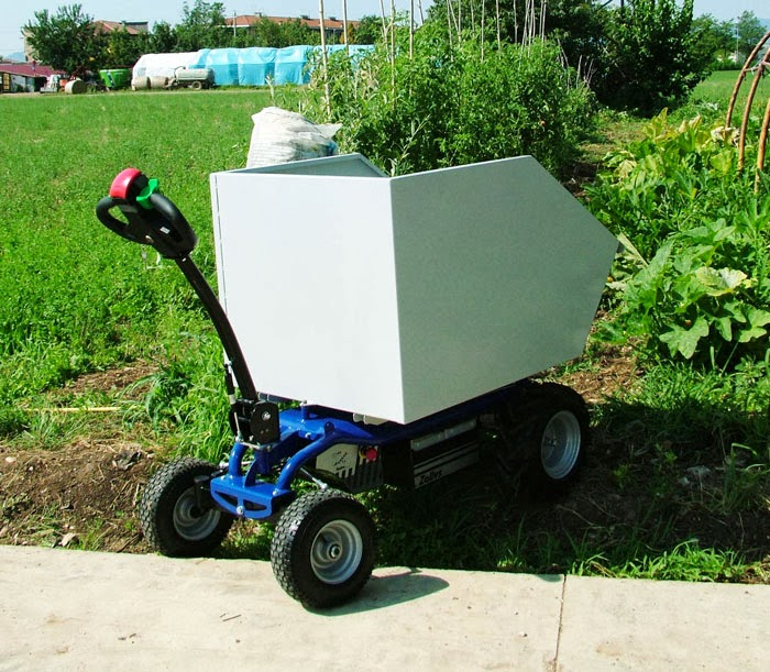 Powered cart electric platform truck mod jespi made by zallys for Easy entry cart plans