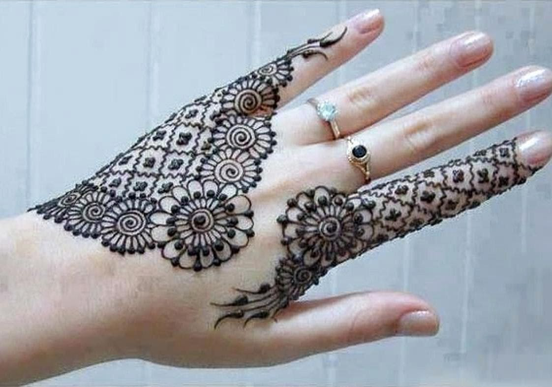 New Mehndi Patterns : Bridal mehndi designs latest new eid