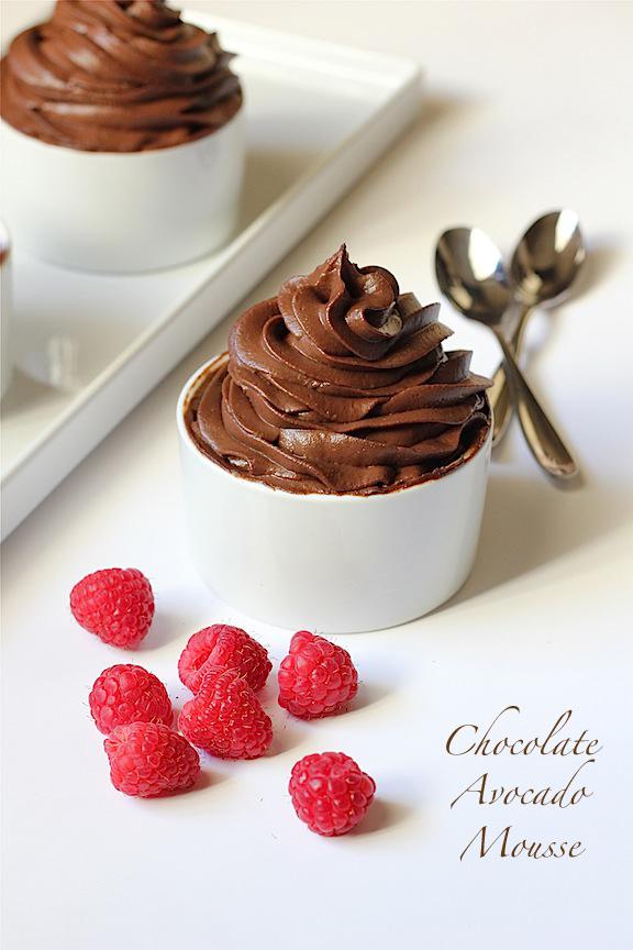 Savor Home: CHOCOLATE AVOCADO MOUSSE