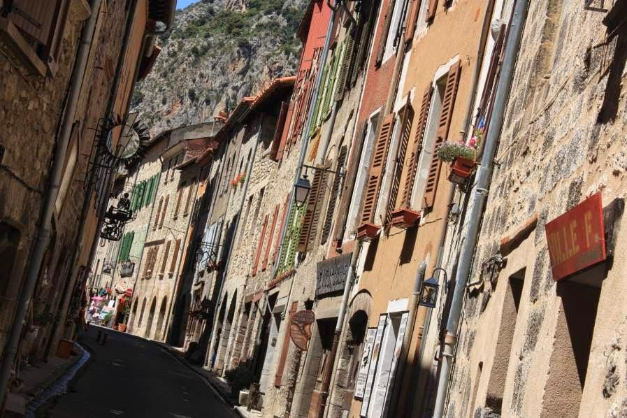 Rue Saint-Jean in Villefranche de Conflent