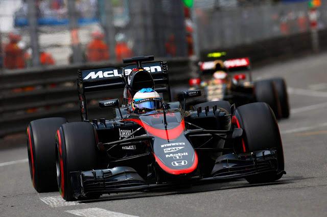 Fernando Alonso - McLaren-Honda 2015