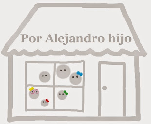 Por Alejandro hijo: este es un espacio de mi hijo mayor donde escribe sobre lo que le gusta