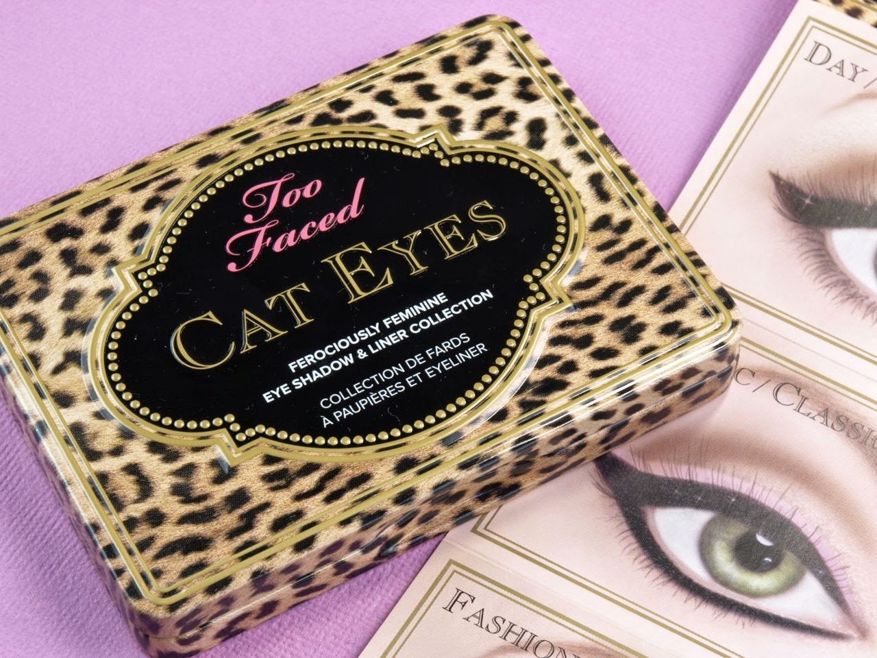 Too Faced Cat Eyes Eye Shadow & Liner Palette: Review and Swatches
