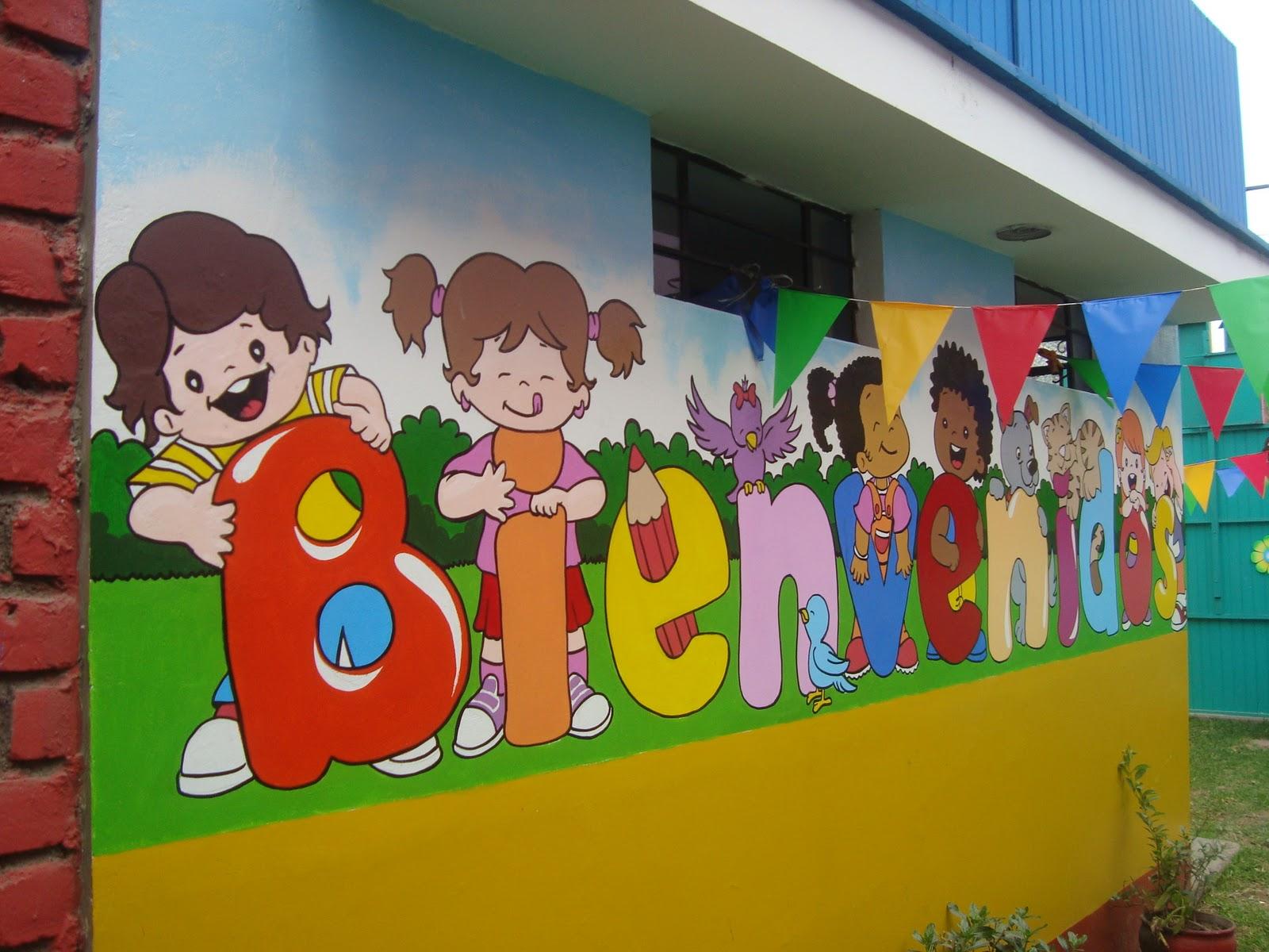 Castillos murales infantiles for Murales infantiles