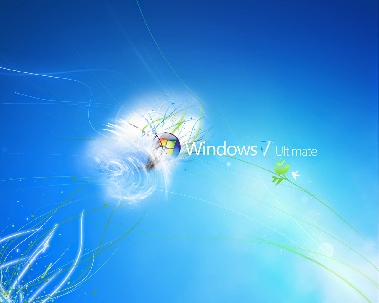 Windows 7 Product Start Screen