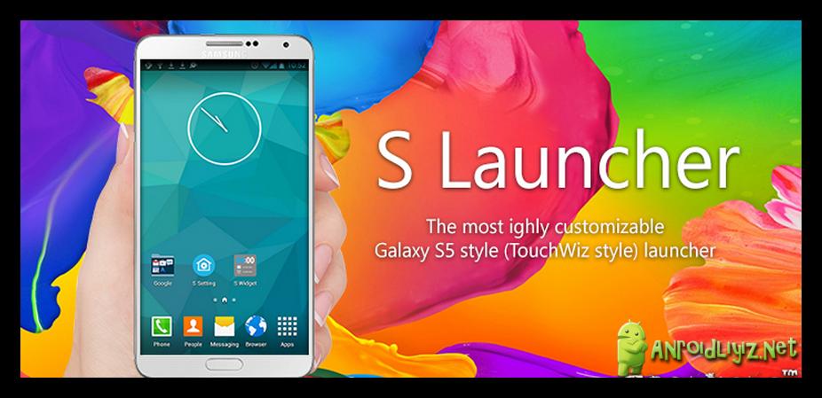 S Launcher (Galaxy S6 Launcher) Prime v395 APK Free