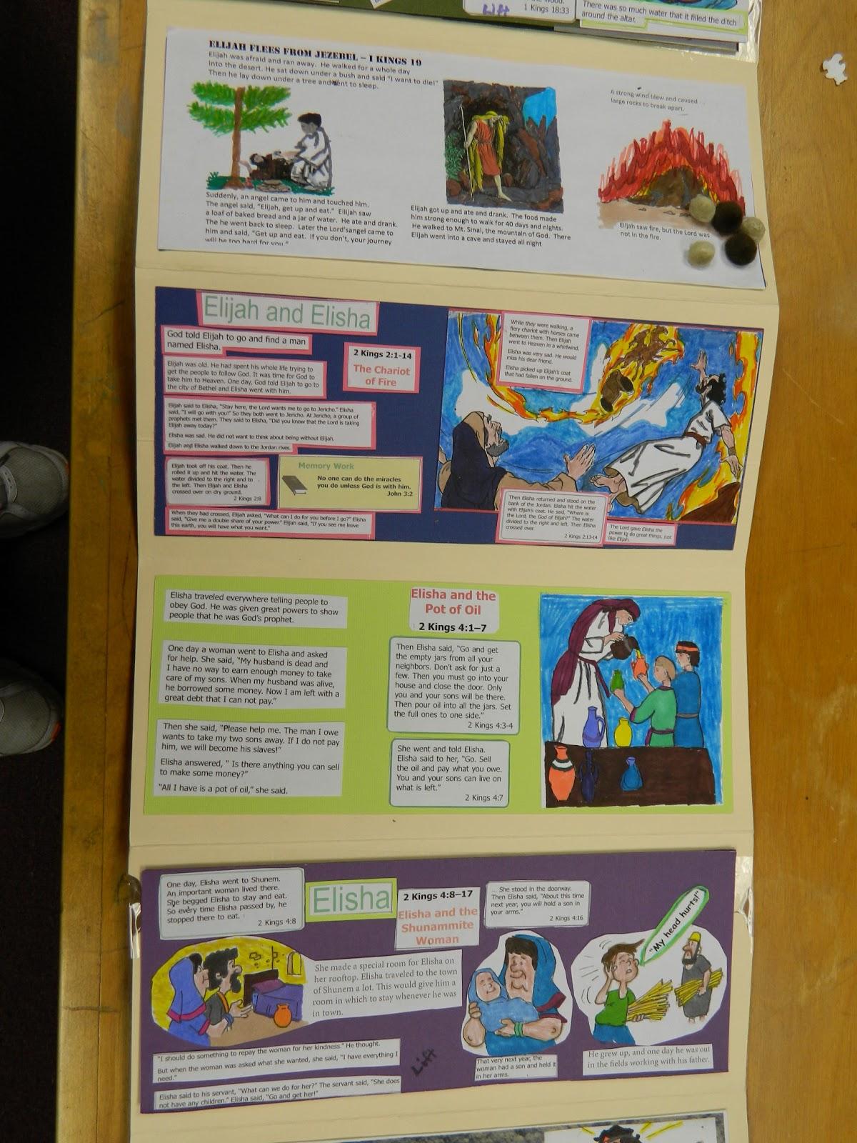 Hands On Bible Teacher: Lap Book Activity from the 2nd-4th Grade Class