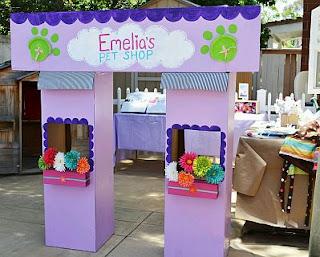 Decoracion de Littlest Pet Shop para Fiestas Infantiles