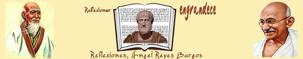 Articulos y Reflexiones con imágenes de Ángel Reyes Burgos