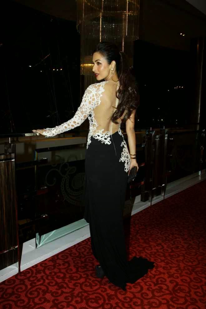 Malaika Arora Khan Hot Backless Photos