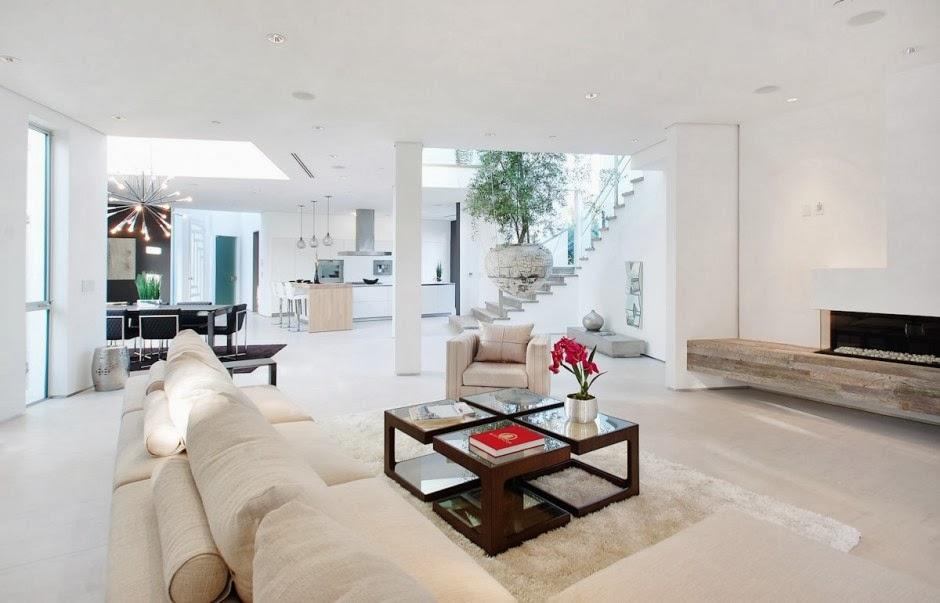 estilo minimalista diseo interior casa mansfield por amit apel design california