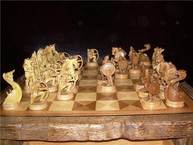 Сделать шахматы из дерева своими руками 56