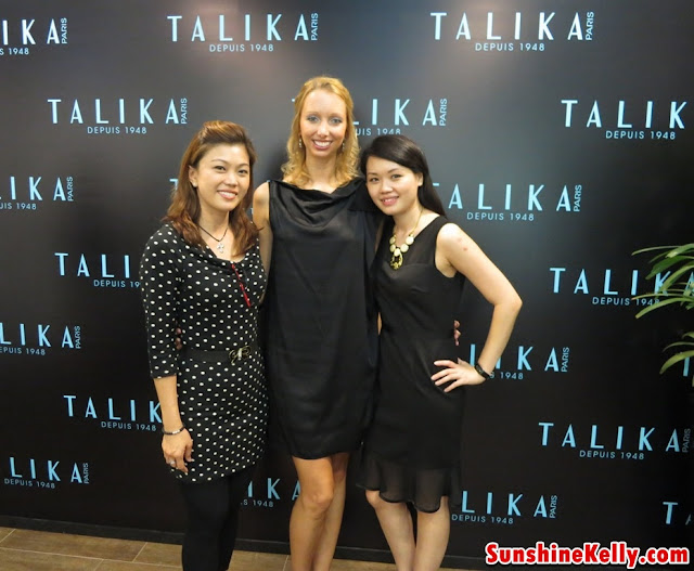 Me with Sina Deubner, Product Specialist, Talika Paris