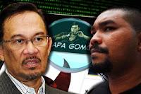 Datuk Seri Anwar Ibrahim and PapaGomo
