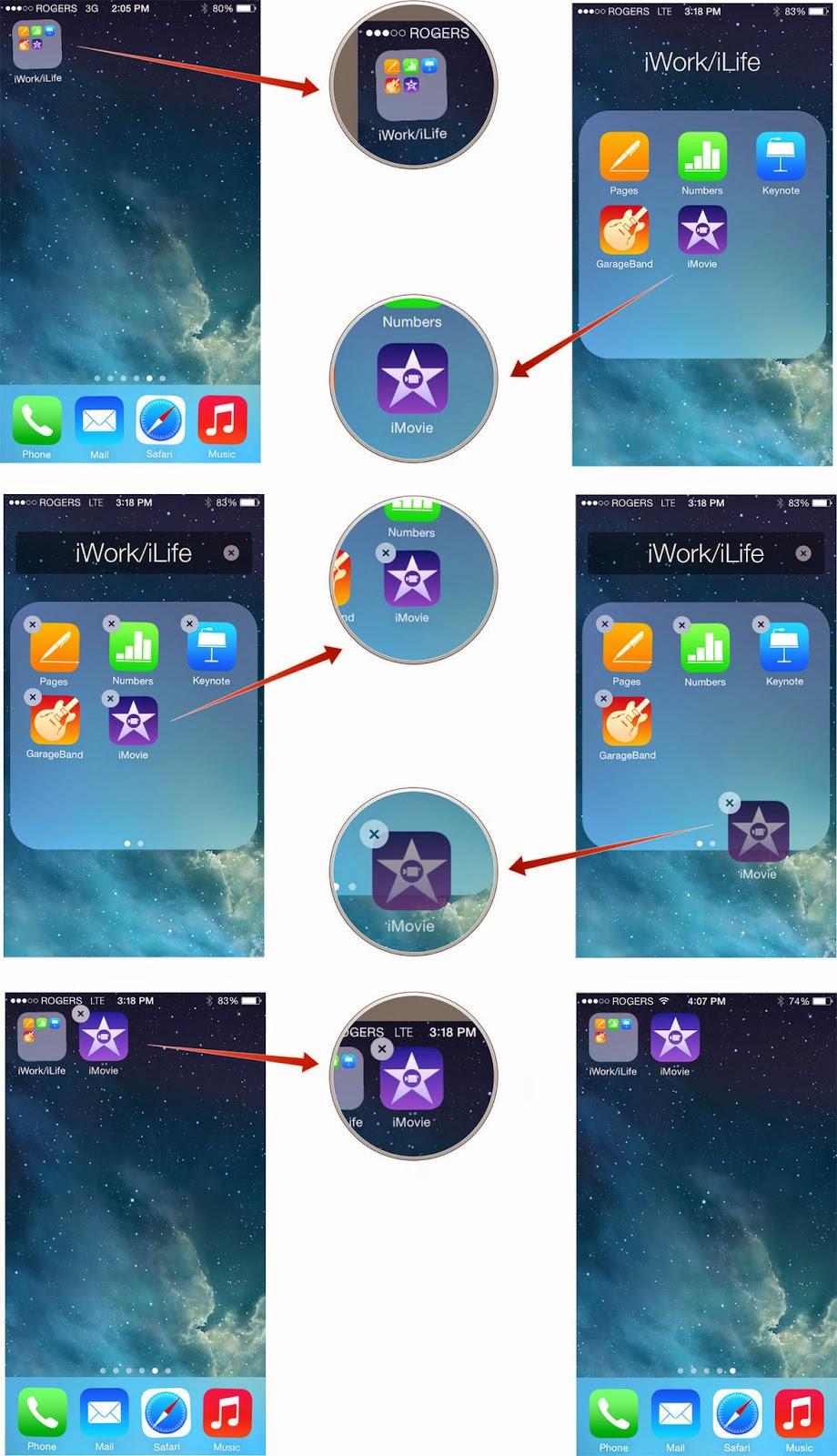 Cara menghapus aplikasi dan folder pada iPhone atau iPad
