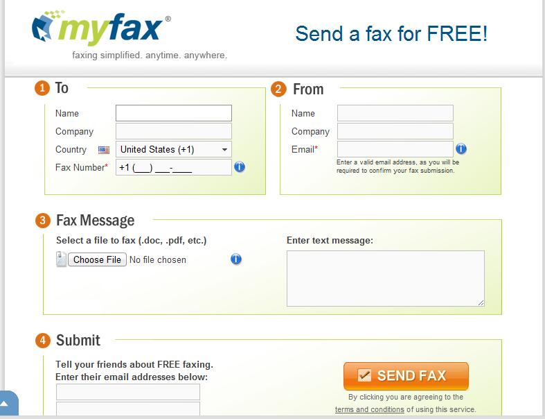 Отправлять и получать факсы очень просто с PamFax