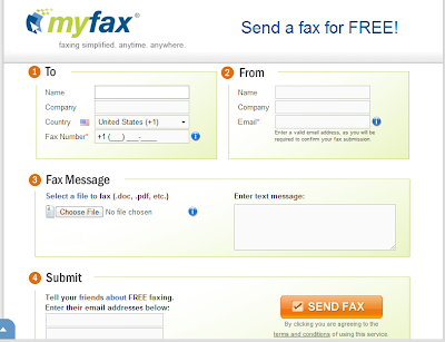 receiving faxes without a fax machine